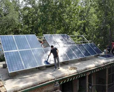 农村屋顶分布式发电系统项目